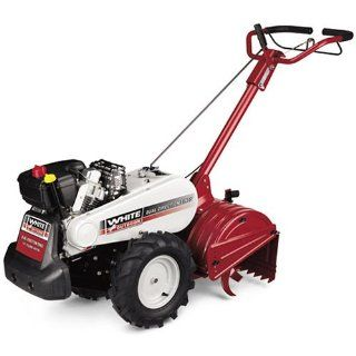 White Outdoor 195cc Rear Tine Tiller 21AB453H290 (Discontinued by Manufacturer)  Power Tillers  Patio, Lawn & Garden