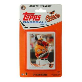 Baltimore Orioles 2013 Team Collectible Trading Card Set