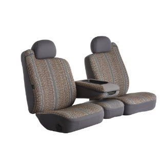 Fia TR47 30 GRAY Custom Fit Front Seat Cover Split Seat 40/20/40   Saddle Blanket, (Gray) Automotive
