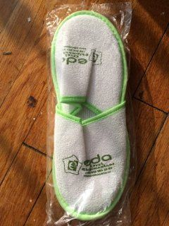 Premium Open Toe Terry Spa Slippers White 1 pr. Beauty