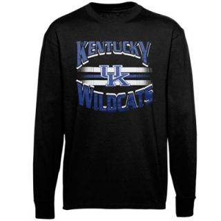 Kentucky Wildcats Youth Arch Bar Long Sleeve T Shirt   Black