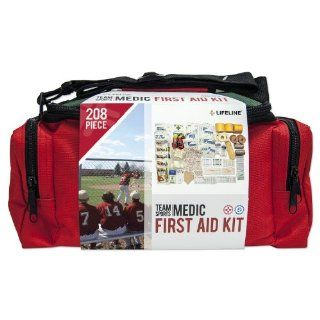 Lifeline Team Sports Medic First Aid Kit   207 Pieces Sports & Outdoors