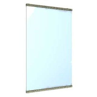 "Watermark Designs 27 0.9A Polished Chrome Bathroom Accessories 24X36"" Rectangular Mirror"