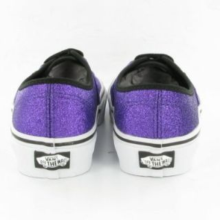 Vans Authentic Glitter Heliotrope VN 0QER65W Purple Shoes Size Women's 10.5/ Men's 9 Shoes