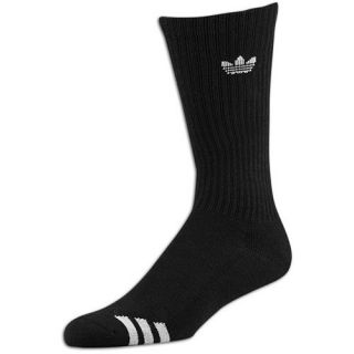 adidas Originals 3 Pack Crew Socks   Mens   Casual   Accessories   Black/White