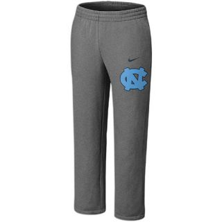 Nike College Classic Fleece Open Hem Pants   Mens   Basketball   Clothing   North Carolina Tar Heels   Dark Grey Heather