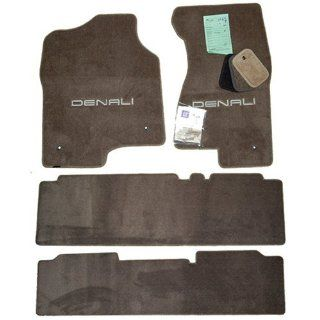 GMC Yukon Denali Sandstone Tan Floor Mats Set Bench 2001 2002 2003 2004 2005 2006 Automotive