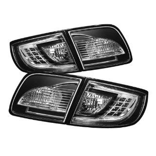 2003 2004 2005 2006 2007 2008 Mazda 3 4DR Sedan (Non Hatchback) LED Tail Lights   Black Automotive