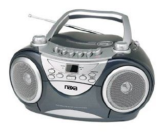 NAXA NX 237 Portable VCD//CD AM/FM Stereo Radio Cassette Player/Recorder w/Game Function and Remote Control  Players & Accessories