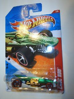 2011 Hot Wheels 213/244   Thrill Racers Jungle 3/6   Croc Rod Toys & Games