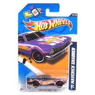 Hot Wheels   '71 Maverick Grabber (Purple)   HW Racing 12   9/10 ~ 179/247 [Scale 164] Toys & Games