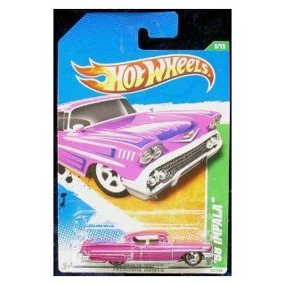 2011 HOT WHEELS TREASURE HUNT `58 IMPALA 3/15 TREASURE HUNTS 53/244 Toys & Games