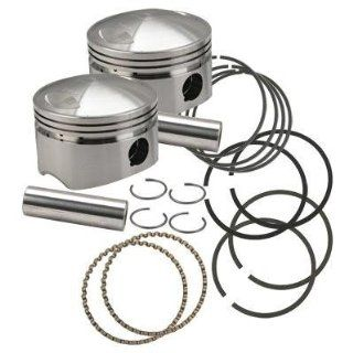S&S Cycle Forged Pistons for 88ci.  103ci. Motors and Sidewinder Kit   Standard Bore 3 5/8in. 106 5535 Automotive