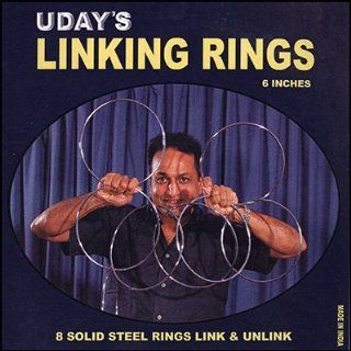 Linking Rings   06 Inches   # 8 by Uday   Trick Toys & Games