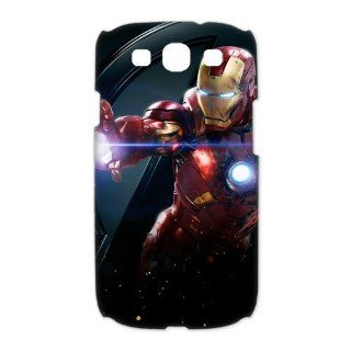 Custom The Avengers Iron Man 3D Cover Case for Samsung Galaxy S3 III i9300 LSM 257 Cell Phones & Accessories