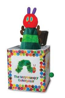 Kids Preferred The World of Eric Carle The Very Hungry Caterpillar Toy, Jack in the Box Baby