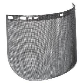 "Jackson Safety F60 40 Mesh Steel Screen Aluminum Bound Wire Face Shield, 15 1/2"" Length x 9"" Width, Black (Case of 12)"