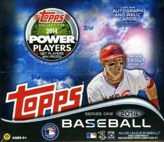 2014 Topps Series 1 MLB Baseball Huge 24 Pack Factory Sealed Retail Box with 288 Cards Sports Collectibles