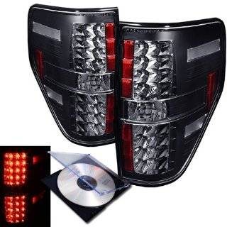 RXMOTOR 2009 2010 FORD F150 LED TAIL LIGHTS LED REAR BRAKE LAMPS PICK UP + INSTALL GUIDE Automotive