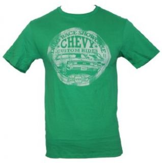 IMPB Men's 1968 Drag Race Showcase Custom Rides Chevy Chevrolet T Shirt Clothing
