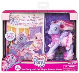 My Little Pony Starsong and the Magic Dance Shoes Toys & Games