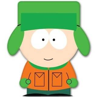 "South Park Kyle Broflovski car bumper sticker 4"" x 5"" Automotive"