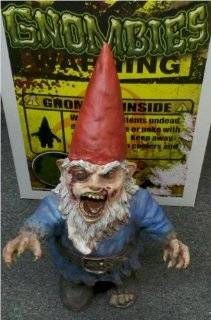 Gnombie FULL SIZE Zombie Garden Gnome Toys & Games