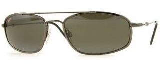 Maui Jim Flexon Sunglasses   Big Island   303 02   Gunmetal Frame w Neutral Grey Lens Clothing