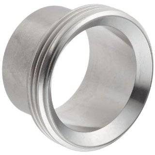 Dixon 15A Series Stainless Steel 304 Sanitary Fitting, Long Threaded Bevel Seat Weld Ferrule Sanitary Tube Fittings