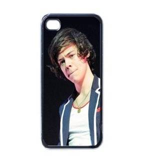 Harry Styles One Direction Cool Unique Design iphone 4 4S Cases Cover Vol8 Cell Phones & Accessories