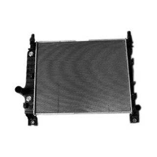 TYC 2294 Dodge Dakota 2 Row Plastic Aluminum Replacement Radiator Automotive