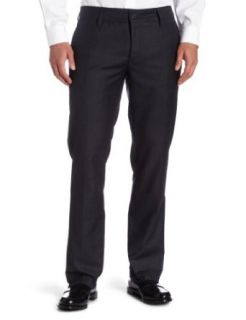 Hause Of Howe  Men's The Finest Plaid Trouser,Gun Metal Grey,28 Clothing