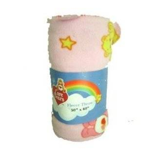 "Care Bears Fleece Throw Plush Blanket 50""x60"""