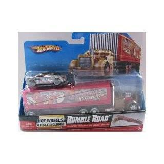 Hot Wheels Team Barbaric Transport Truck & Car Toys & Games