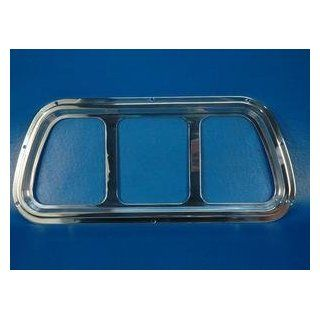 71 73 Mustang Rear Tail Light Bezels (Polished Finish) Automotive