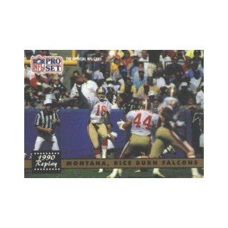 Joe Montana/Jerry Rice 1991 Pro Set Card #329 Sports Collectibles