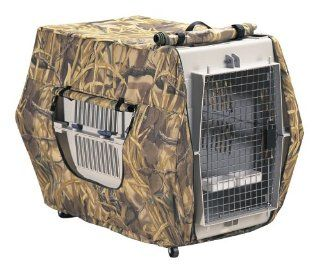 Classic Accessories Insulated Dog Kennel Cover, Wetlands, Medium