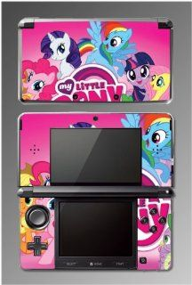 My Little Pony Friendship is Magic Equestria Girls Cartoon Movie Video Game Vinyl Decal Skin Cover Protector for Nintendo 3DS Video Games