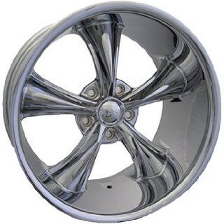 Boss 338 20 Chrome Wheel / Rim 5x4.75 with a 20mm Offset and a 82.80 Hub Bore. Partnumber 33862034 Automotive