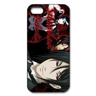 Personalized Black Butler Hard Case for Apple iphone 5/5s case AA341 Cell Phones & Accessories