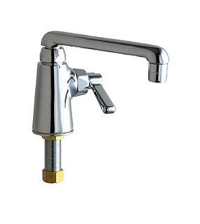 Chicago Faucets 349 CP Single Supply Laundry/Bar Sink Faucet, Chrome   Bathroom Sink Faucets