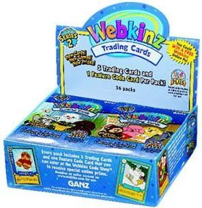 Webkinz Trading Cards Series 2 Sealed Box 36 Packs Toys & Games