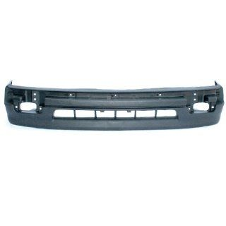 CarPartsDepot, Front Bumper Cover Facial Plastic Unpainted Black 2WD Cab Pickup Replacement, 352 44166 10 TO1095171 5391104060?? Automotive