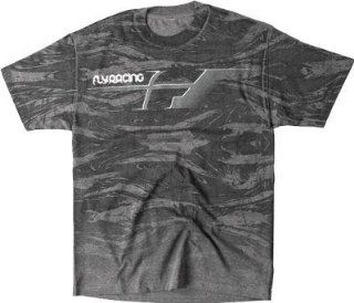 Fly Racing Patrol T Shirt , Distinct Name Camo/Black, Primary Color Black, Size XL, Gender Mens/Unisex 352 0338X Automotive