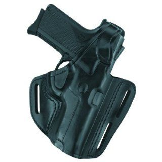 "Gould & Goodrich B803 94 Gold Line Three Slot Pancake Holster (Black) Fits RUGER 4"" Bbl., GP100, Security Six, Service Six, Speed Six; S&W 44, .357, 581, 586, 681, 686, 696  Gun Holsters  Sports & Outdoors"