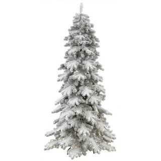 "Vickerman 34331   6' x 36"" Flocked Vail Pine 250 Warm White Italian LED Lights Christmas Tree (R135461LED)"