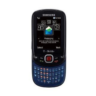 Samsung T359 Smiley Unlocked Phone with QWERTY Keyboard and 1.3MP Camera   Unlocked Phone   US Warranty   Black/Blue Cell Phones & Accessories