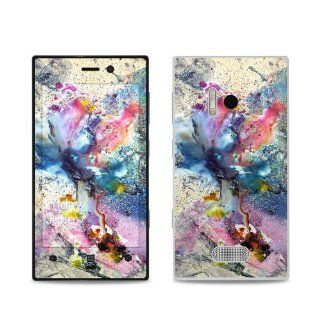 Cosmic Flower Design Protective Decal Skin Sticker (Matte Satin Coating) for Nokia Lumia 928 Cell Phone Cell Phones & Accessories