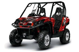 AMR Racing Can Am BRP Commander UTV Side X Side, Graphic Decal Kit   Bone Col Automotive