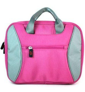 New Pink Laptop Case Computer Bag for Apple MacBook Pro MC374LL/A MB990LL/A MC375LL/A MB991LL/A 13.3 Inch Laptop {+ 1pc name tag}
